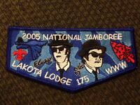 Mint 2005 National Jamboree Flap Lodge 175 Lakota Blues Brothers