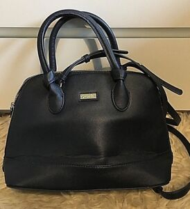 Camomilla Milano Faux Leather Shoulder Hand Bag Medium Navy Best Price Free P&P