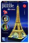 Ravensburger - Puzzle 3D Tour Eiffel lumineuse -    NEUF !!!