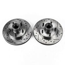 Disc Brake Rotor Set Front Power Stop AR8617XPR
