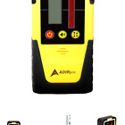 Adir Universal Rotary Laser Detector - Dual Display Laser Receiver with Auto-...
