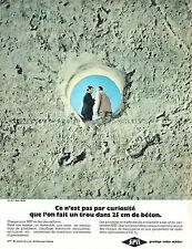 PUBLICITE ADVERTISING 114  1967  SPIT   travaux de maçonnerie