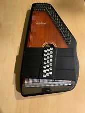 Oscar Schmidt OS21C Autoharp and case