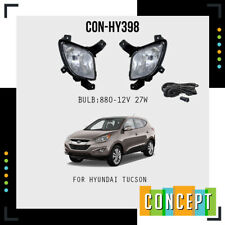 For 2010-2015 Hyundai Tucson Fog Lights Lamps and Assembly Set