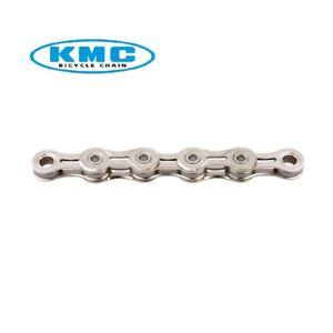 KMC Cadena X11EL Silver Bici 11 Velocidad Silver Simano Campagnolo 114 Enlace