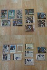 Michael Jordan Lot of 10 Baseball Cards - Chicago White Sox Birmingham Barons Bu