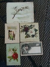 New Years Eve Antique Cards