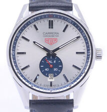 Tag Heuer Carrera WV5111 FC6350 Automatic Silver Blue Stainless Analog Men's 147