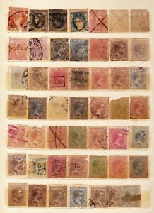 LOT OF OLD US - PHILIPPINES AND SPANISH PHILIPPINES STAMPS