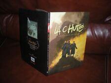 LA CHUTE - EDITION ORIGINALE 2004 AVEC DEDICACE AQUARELLE COULEUR DE POULOS