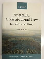 Australian Constitutional Law Foundations and Theory: 3rd Edition
