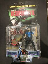 Video Game Super Stars - Resident Evil Jill Valentine  + Web Spinner [BNIB]