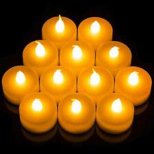 12× Flameless LED Candle Battery Operated Tea Light Flickering Wedding Festival