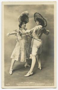 c 1903 Dance Dancing CAKE WALK Cakewalk Dancers undivided back photo postcard