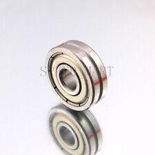 V608ZZ 608VV V Groove Guide Pulley Rail Ball Bearings Metal (8mm*22mm*7mm)