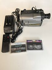 Sony Handycam Ccd-Trv52 8mm Analog Camcorder and Accessories Bundle Tested