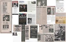 GEORGIE FAME : CUTTINGS COLLECTION -adverts etc-