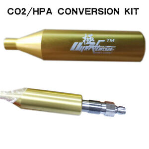 ULTRAFORCE Co2/HPA FIRE Conversion Kit for Co2 Powered Airsoft Guns S-TW thread