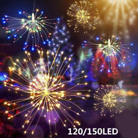 USB Firework LED Fairy Lights Wire Strip String Lights For Wedding Decor Uk ILO