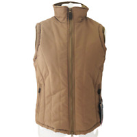 Target Dry Mallow Gilet UK 14 Caramel Brown Water Repellent Windproof Lined BNWT