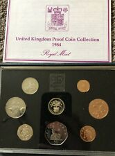 UK Royal Mint Proof Coin Set 1984