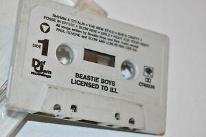 Beastie Boys - Licensed To Ill Cassette Tape 1986 Def Jam Recordings