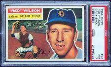 1956 Topps #92 Red Wilson PSA 7 GRAY  -  SUPERB CENTERING