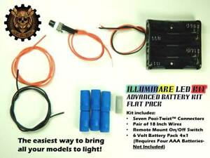 Illuminare Advanced Battery Kit- Flat Pack (6 Volt)
