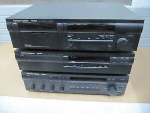 Harman/kardon Casette Deck - CD Player - Receiver, Rechnung V10962