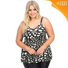 New Ladies Plus Size Autograph Strappy Top Blouse T Shirt Sizes 14-26