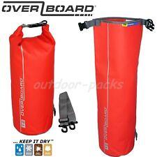 Wasserdichte Tasche Packsack Drybag OverBoard 12 Liter rot Trekking Fahrrad