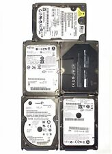"LOT 5X 160gb hdd 2.5"" for laptop fujitsu seagate wd"