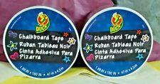 Duck Brand Black Chalkboard Tape 2x Rolls 188 In X 180 In Each My Top Pick Lt3