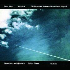 PÄRT/DAVIES/GLASS - TRIVIUM  CD  8 TRACKS  NEU