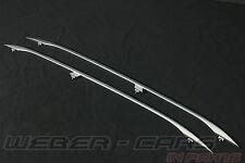 orig Audi RS4 8E (A4 S4 8E B6 B7) Dachreling Reling Relinge Alu matt Dachrelinge