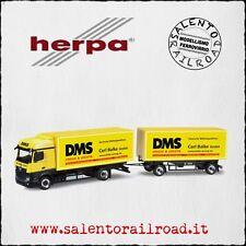 "HERPA 159890 truck MERCEDES-BENZ tow ""DMS"" - 1/87"