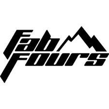 Fab Fours Sensor Relocation Bracket Black For 2017 Ford F-150 Raptor #M3850-1