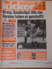 KICKER 99 - 8.12. 1994 Kiew-Bayern 1:4 Neapel-Frankfurt 0:1 Leverkusen-Kattowitz