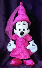 "Disney Parks Minnie Mouse Sorceress Plush 12"" -Sitting & 20"" -Standing New! Rare"