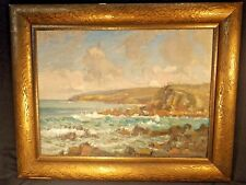 OIL ON CANVAS ORIGINAL FRAMING WILL ASHTON PETREL COVE SA 59.5 cms x 45 cms.