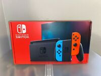 Brand New Nintendo Switch 32 GB Console - Neon Blue/Red Joy-Con **IN HAND**