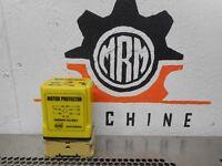 BEHA DR11 Motor Protector Relay 430-480VAC 10A 250V & Lumberg 108PGS Relay Base