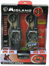 NEW Midland GXT1000VP4 36-Mile GMRS 2-Way Radio X-TRA Two GMRS Walkie Talkie