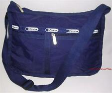 LeSportSac CrossBody Shoulder Bag Dark Blue NYLON Everyday Messenger Sling Purse
