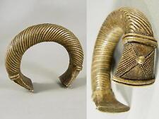 um1880 / schwerer Bronzearmreif / wohl Niger oder Elfenbeinküste / Afrika