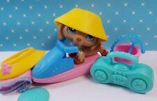 Littlest Pet Shop Figur #518 Dachshund & Zubehör LPS