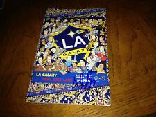 Sebastian Lletget Los Angeles Galaxy Autographed Game Magazine 5/27/2015 Coa