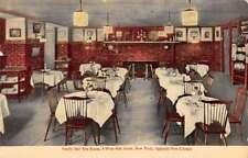 New York City Vanity Fair Tea Room Interior Antique Postcard K93622