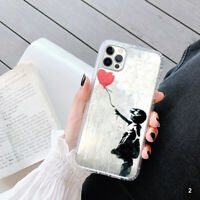 Banksy Gel Mobile Phone Case Cover For Apple Samsung Huawei OD58-2