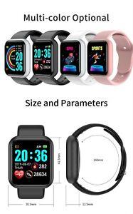 Smart Watches Men and Women D20 Smart Watch Blood Pressure Monitor